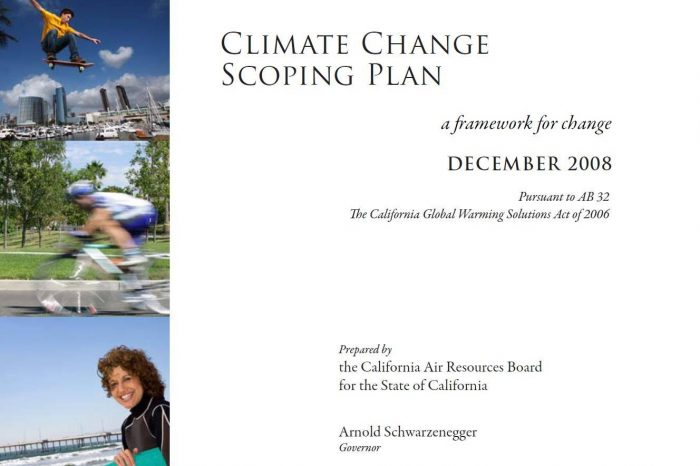 Climate Change Scoping Plan: A Framework for Change