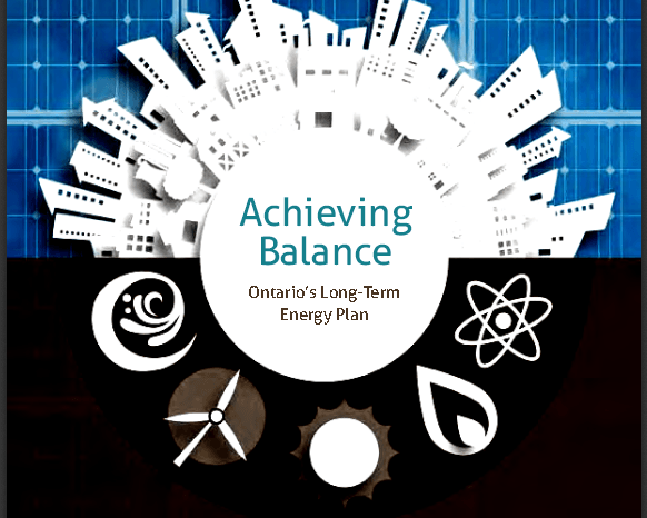 Ontario's Long Term Energy Plan – Building Our Clean Energy Future