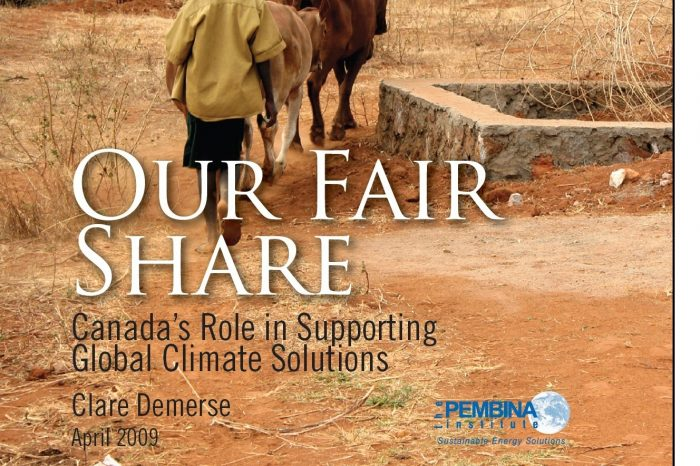 Our Fair Share: Canada's Role in Supporting Global Climate Solutions