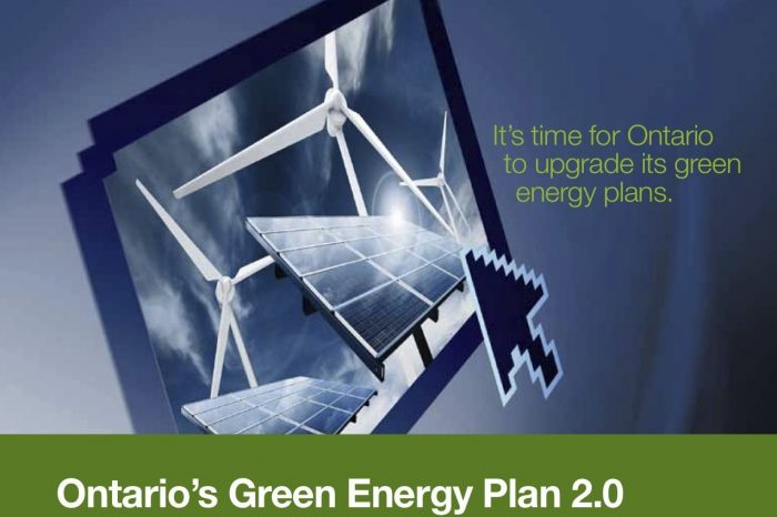 Ontario's Green Energy Plan 2.0: Choosing 21st Century Energy Options