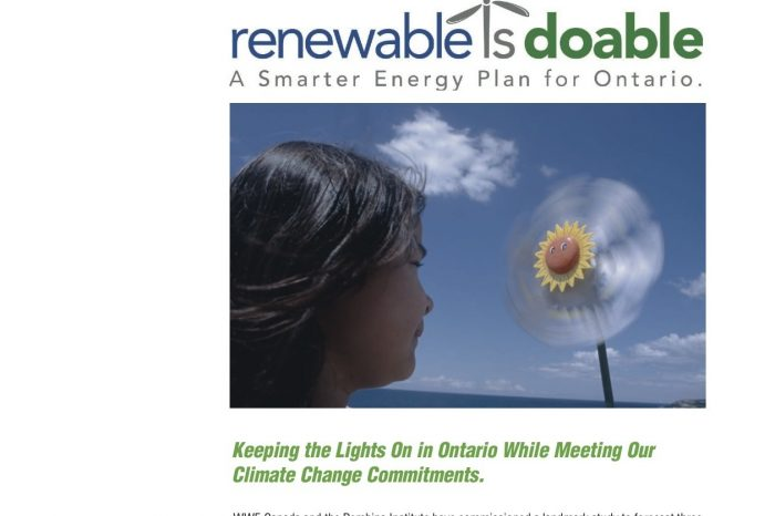 Renewable is doable - A smarter energy plan for Ontario