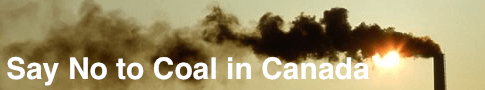 Say No to Coal in Canada
