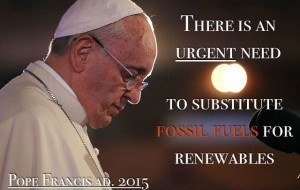 Pope Francis, Papal Encyclical for Climate Action