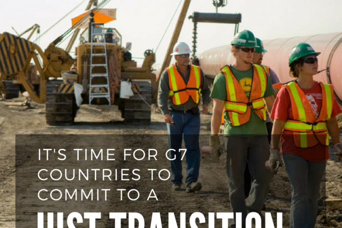 The G7's Opportunity to Elevate the Discussion around Just Transition in a Decarbonizing World