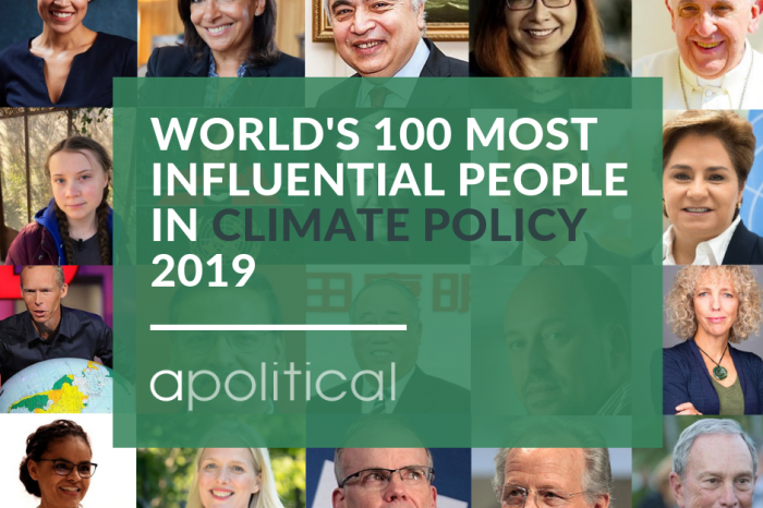 Our Executive Director Catherine Abreu named one of the world's 100 most influential people in climate policy