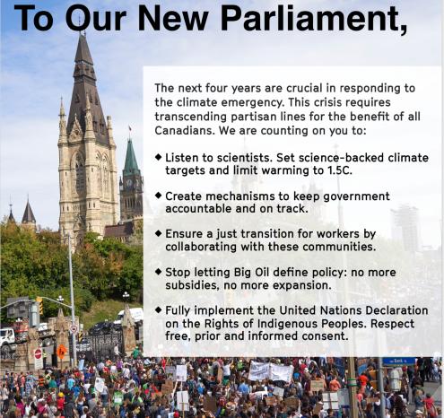 Mandate Letter to PM Trudeau