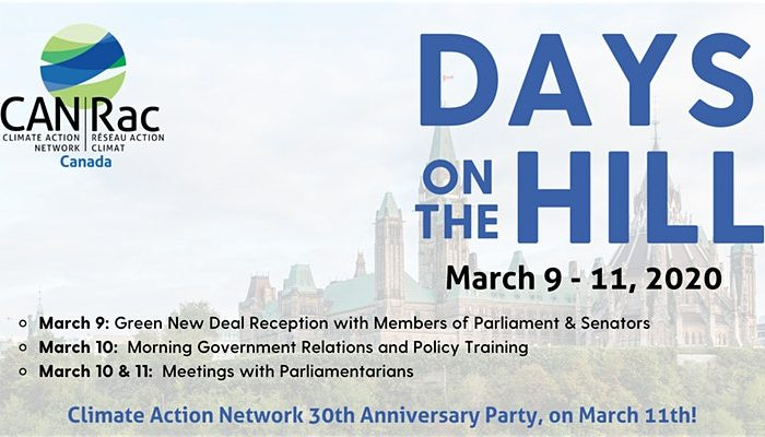 Climate Action Network Days on the Hill