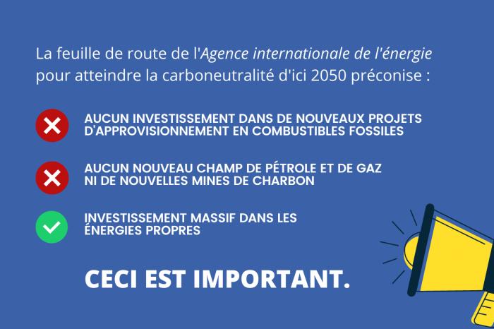 Le nouveau rapport de l'AIE propose une voie vers la carboneutralité d'ici 2050. Voici pourquoi c'est important et ce que ça signifie.